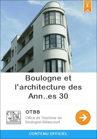 Paris france audioguide gratuit pour iphone et android - Office tourisme boulogne billancourt ...