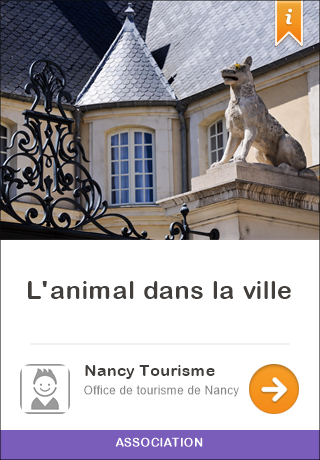 Nancy france audioguide gratuit pour iphone et android l 39 animal dans la ville - Office tourisme stockholm ...