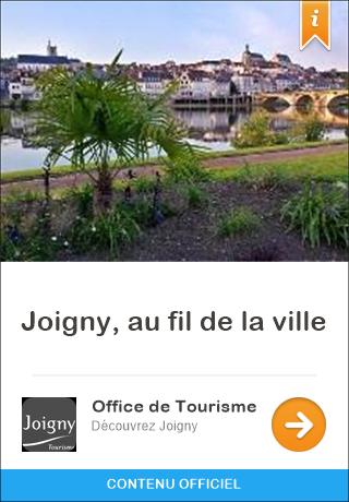 Joigny france audioguide gratuit pour iphone et android joigny au fil de la ville - Office du tourisme joigny ...