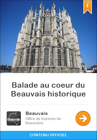 Beauvais france audioguide gratuit pour iphone et android balade au coeur du beauvais historique - Office du tourisme london ...