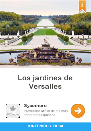 Versailles france audio guided tour for iphone and for Los jardines de versalles