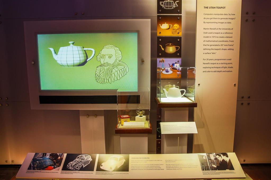 3D Imaginary Tour - The Utah Teapot - Computer History Museum