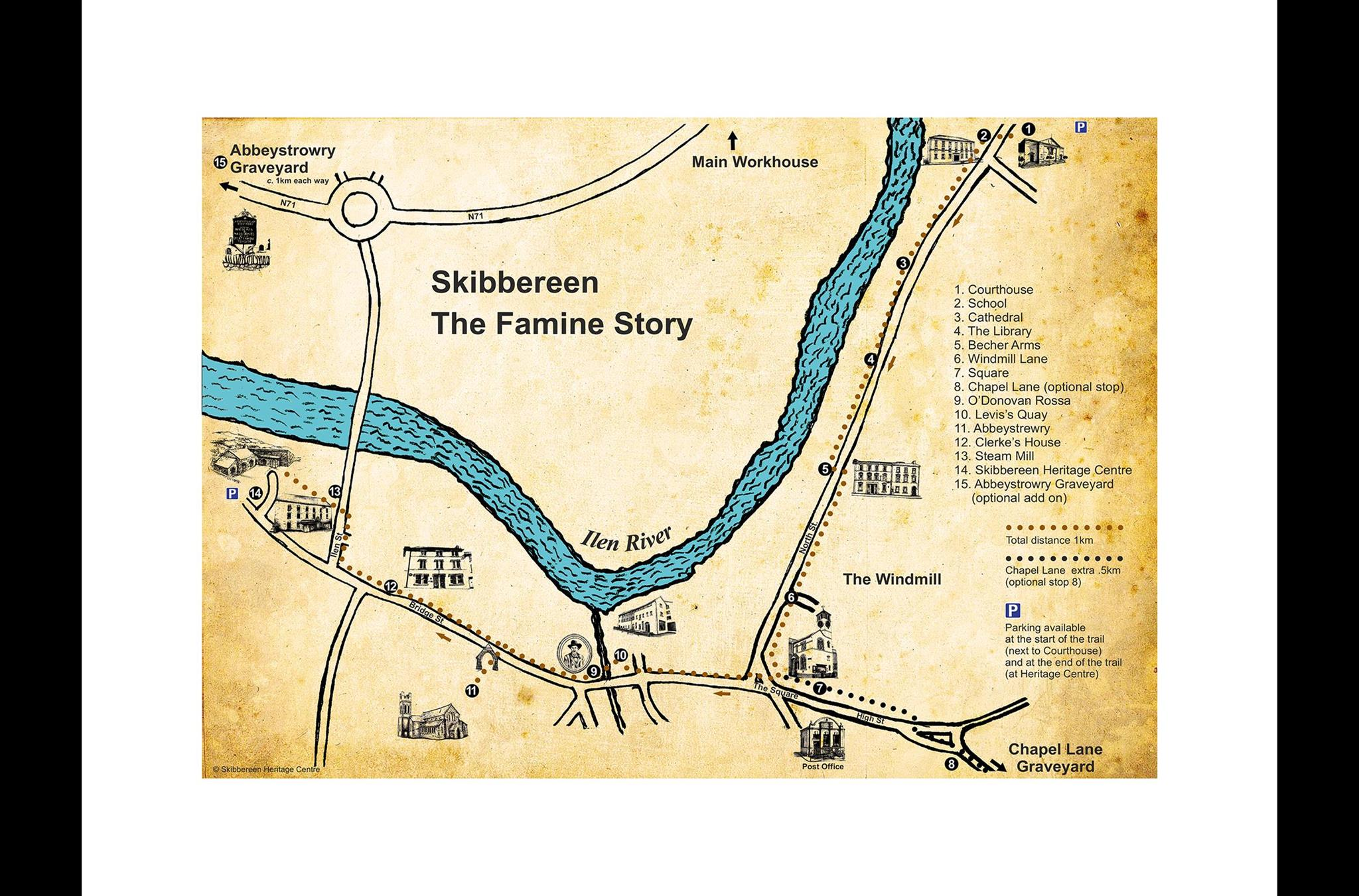 Skibbereen Ireland Map.Cork Ireland Audio Guided Tour For Iphone And Android