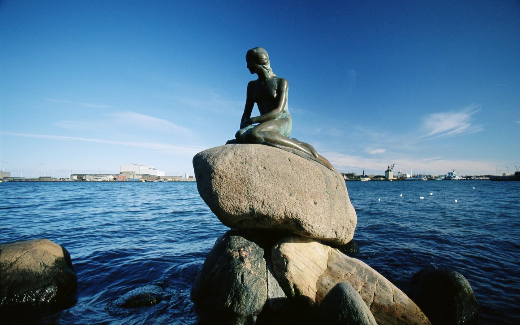 ebikego top 10 attractions in copenhagen the little mermaid