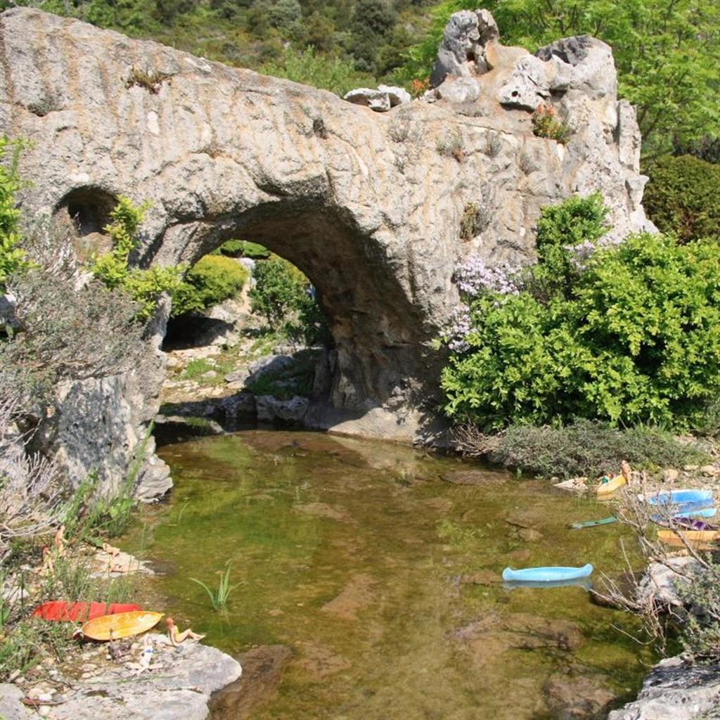 Jardin Des Trains Ardechois Le Pont D Arc